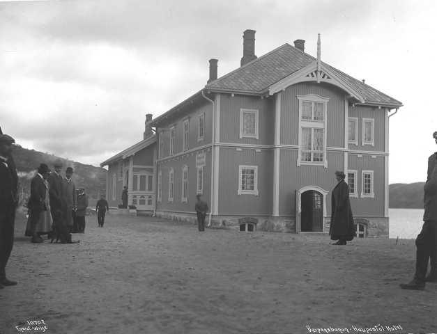 Haugastøl fjellstue i 1909
